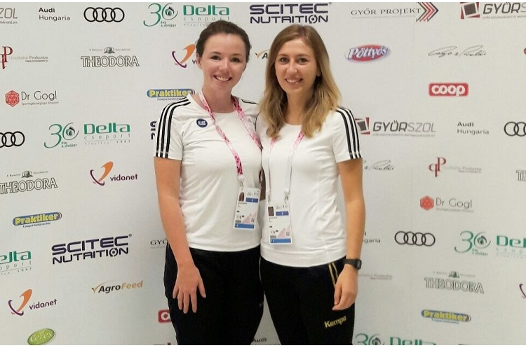 British duo referee in European Youth Olympics