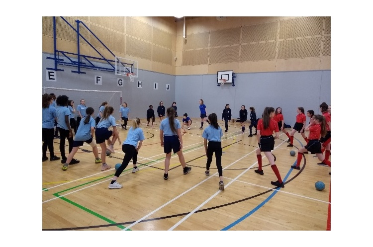 Handball developing young sports leaders