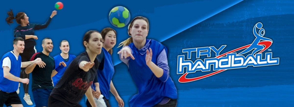 Try Handball home page banner