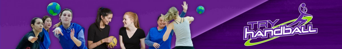 Try Handball women-only session web-page banner