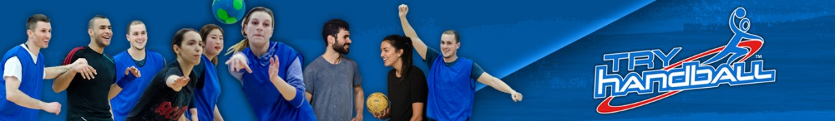 Try Handball web-page banner